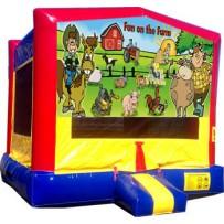(C) Fun On The Farm Bounce House