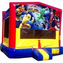 (C) Power Rangers Bounce House