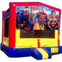 (C) Superman Bounce House