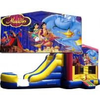 (C) Aladdin Bounce Slide combo (Wet or Dry)