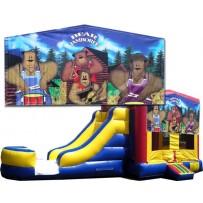 (C) Bear Jamboree Bounce Slide combo (Wet or Dry)
