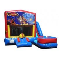 (C) Aladdin 7n1 Bounce Slide combo (Wet or Dry)