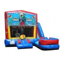 (C) Brave Knight 7N1 Bounce Slide combo (Wet or Dry)
