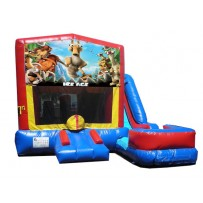 (C) Ice Age 7N1 Bounce Slide combo (Wet or Dry)