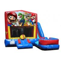 (C) Mario Bros 7N1 Bounce Slide combo (Wet or Dry)