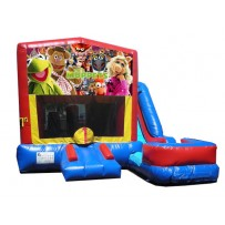 (C) Muppets 7N1 Bounce Slide combo (Wet or Dry)