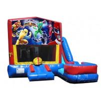 (C) Power Rangers 7n1 Bounce Slide combo (Wet or Dry)