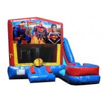(C) Superman 7N1 Bounce Slide combo (Wet or Dry)