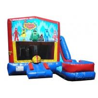(C) Yo Gabba Gabba 7n1 Bounce Slide combo (Wet or Dry)