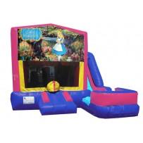 (C) Alice in Wonderland 7N1 Bounce Slide combo (Wet or Dry)