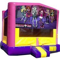 (C) Monster High Bounce House