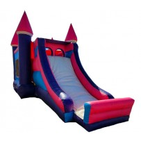 (B)  Princess Castle Bounce Slide combo (Dry)