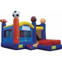 (B) Sports 7N1 Bounce Slide combo (Wet or Dry)