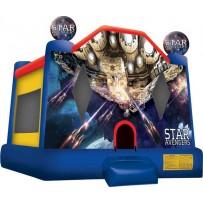 (C) Star Avengers Bounce House Large