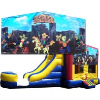 (C) Western Square Bounce Slide combo (Wet or Dry)