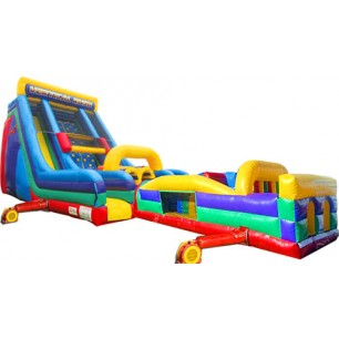 (D) Vertical Rush Dual Dry Obstacle Course